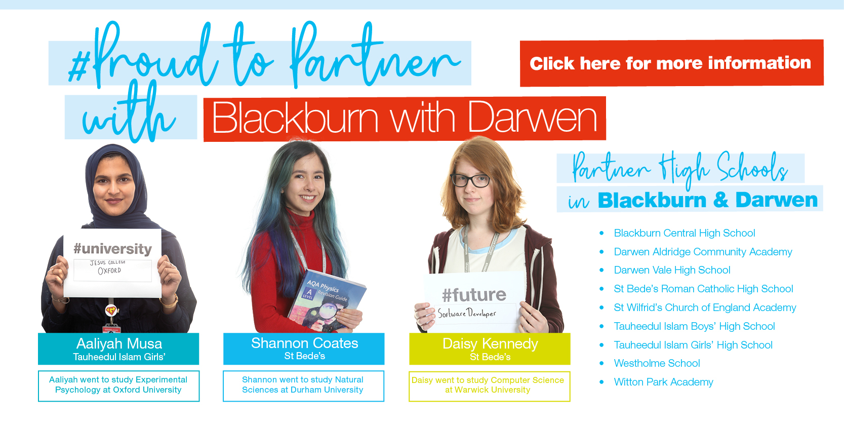 Proud to Partner with Blackburn with Darwen... Click HERE for more information Thumbnail