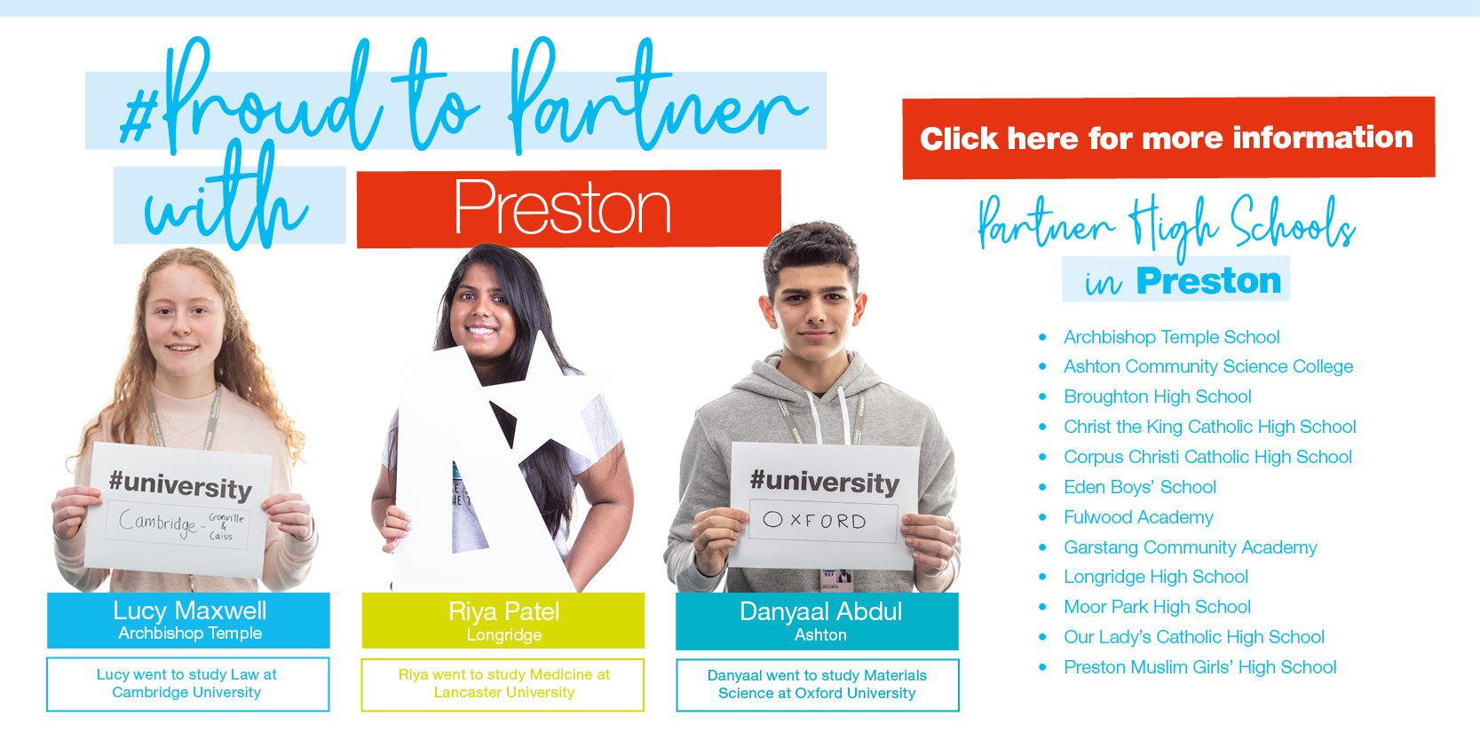 Proud to Partner with Preston... Click HERE for more information Thumbnail