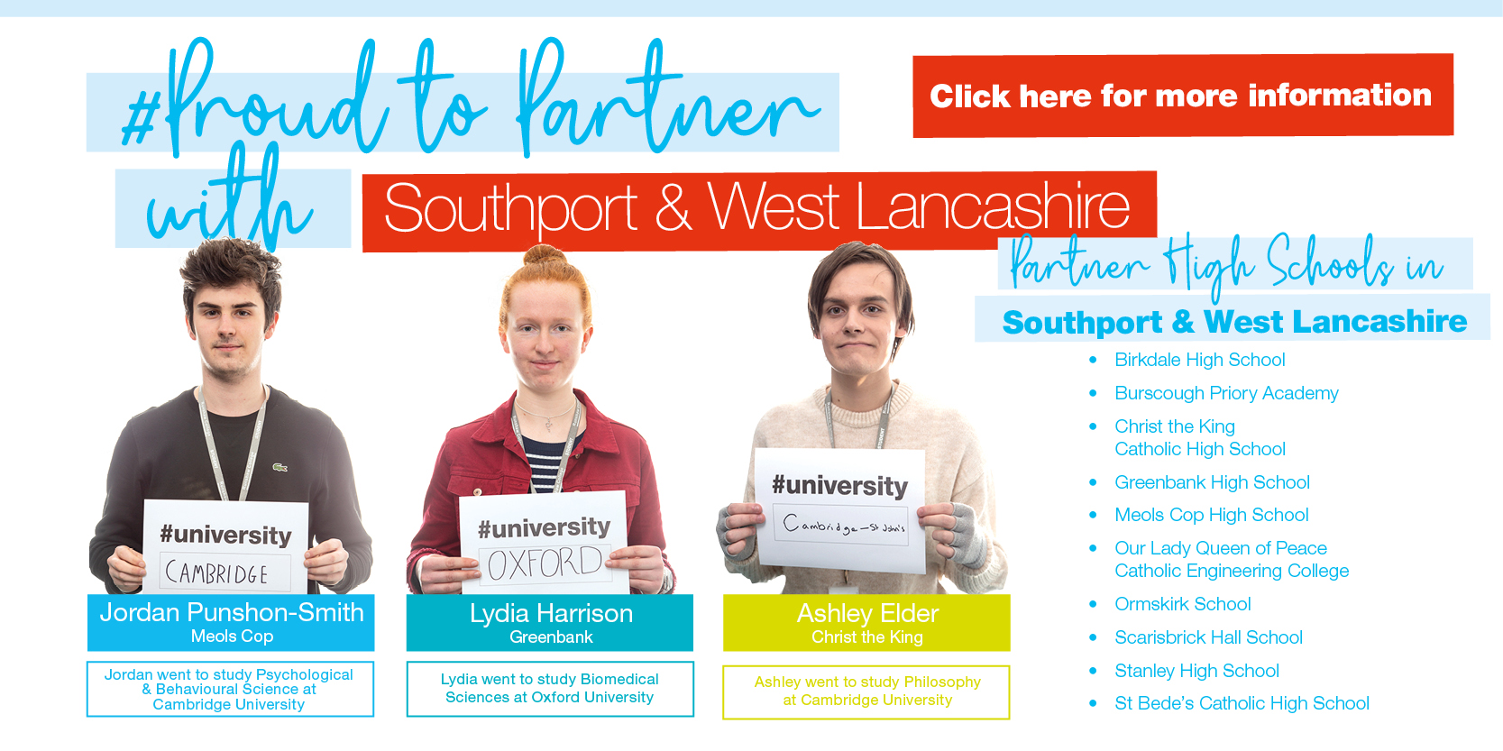 Proud to Partner with Southport & West Lancs... Click HERE for more information Thumbnail