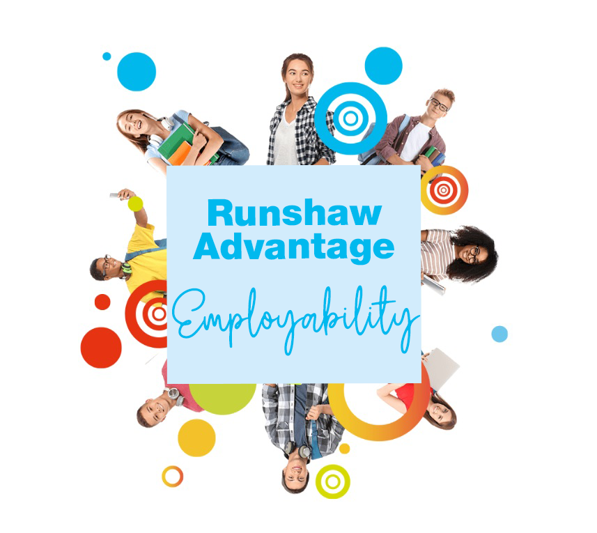 Runshaw Advantage Employability Logo